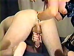 Massage, Ass, Prostate, Anal dildo and prostate milking instruction