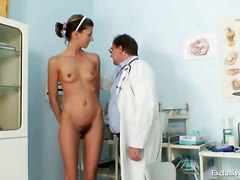 Doctor, Gyno, Teacher, Exam, Gyno uncensored