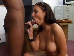Black, Interracial, Student, Indian real teacher flirt with his student