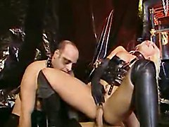 Fetish, Rubber, Leather, Orgy, Leather glove