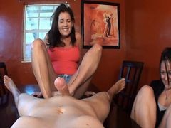 Mom, Footjob, Pedal pumping footjob