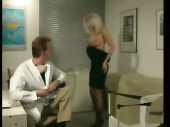 Blonde, Doctor, Office, Exploited college girls penny