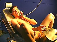 Sybian, Beautiful women orgasm on sybian combo