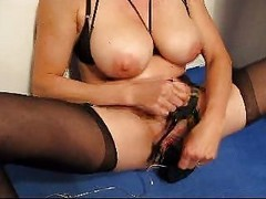 Bdsm, Clit, Mom, Big Tits, Mature mom boy creampie