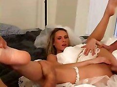 Wedding, Amateur bride fuck stripper