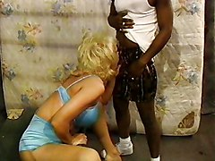 Bus, Blonde, Black, Jail, Tranny in jail