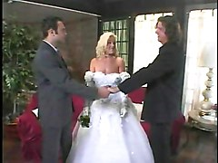 Bride, Squirt, Threesome, Bride anal compilation