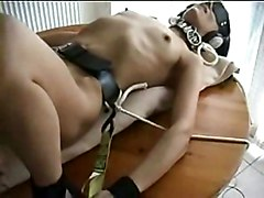 Tied, Dildo, Hot wife tied and fucked - hornbunny.com