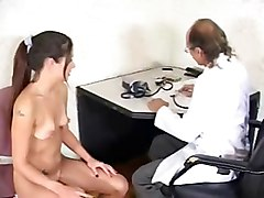 Teen, Gay doctor prostate exam