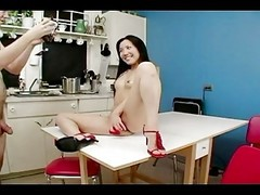 Asian, Kitchen, White ass compilation