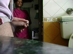 Indian, Maid, Indian bathing