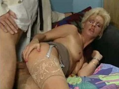 Small Cock, German, Mature, Small cock blowjob
