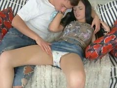 Teen, Creampie, Creampied over and over