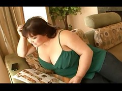 Asian, Bbw, Fat, Old fat man licks virgins