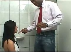 Anal, Oil, Creampie, Student, Indian real teacher flirt with his student