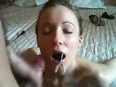 Compilation, Cumshot, Cumshot Compilation, Homemade cuckold clean up compilation