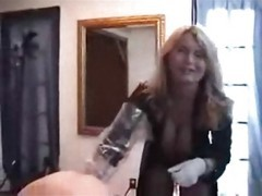 Latex, Fisting, Femdom latex nurse sounding urethra